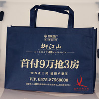 wenzhou factory outlet high quality non woven cloth packaging tote bag