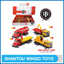 Top level new arrival toy diecast trucks
