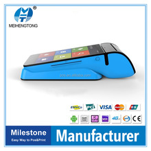 MHT-V3 new style handheld Intelligent Mobile Android All-in-one POS terminal