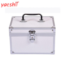 yashii 2018 wholesale aluminium cosmetic case beauty aluminum makeup train case