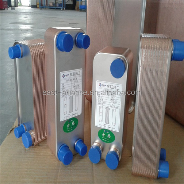counterflow plate heat exchanger