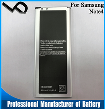 OEM high quality reasonable price china mobile phone li-ion battery for samsung galaxy N9100 Note4