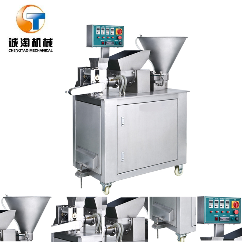 Automatic encrusting and forming instant noodle making machine