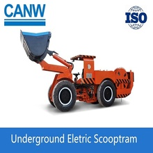 Gold equipment Underground electric wheel loader For Mining Industry