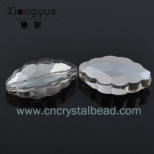flower shape crystal glass beads got making your own jewelry