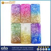 Colorful Soft TPU case with diamond shape for iPhone 5s