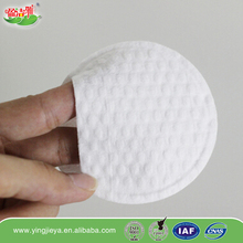 100% pure cotton large round makeup cotton pads cosmetic soft