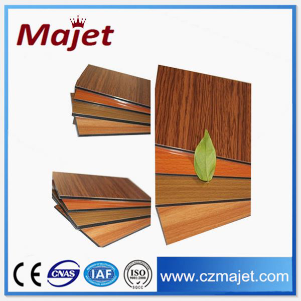 recycled plastic panels Modern Facade Materials/aluminum Composite Panel new exterior building panels