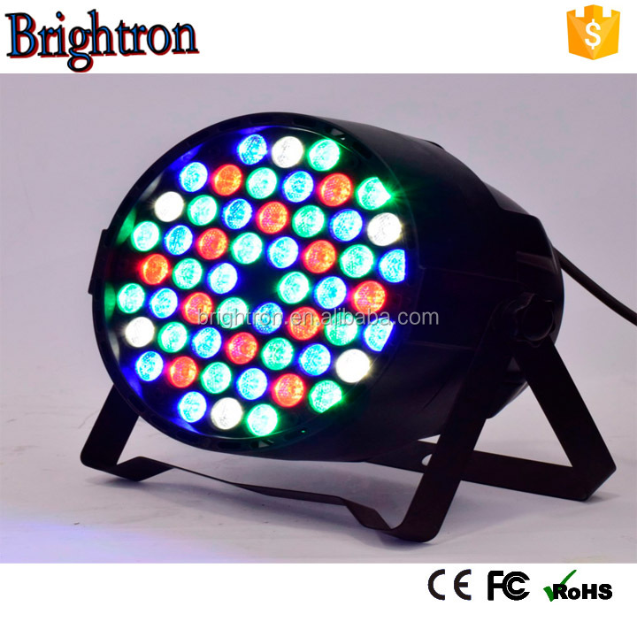 led dj stage 54x3w rgbaw led par light for Event lighting