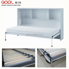 kids furniture CF094 modern horizontal wall bed with lock