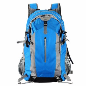 New design high quality sky blue school bags backpack