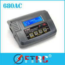The latest FT680 AC/DC lipo charger for RC Helicopter/Car/Quad copter/DJI phantom with Amazed OEM price