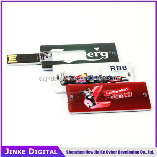 Popular antique 4gb name card usb flash memory drivers