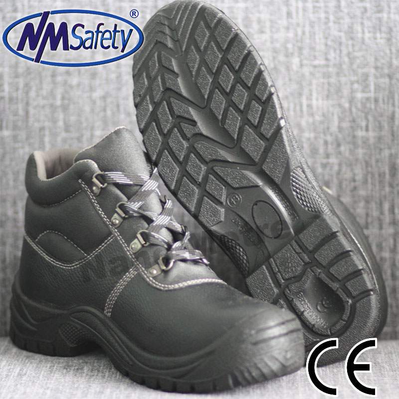NMSAFETY hot sale lace-up safety shoe construction shoe work shoes