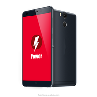 5.5 inch octa core 4g mobile phone /smartphone OEM 6050Mah battery Fingerprint 4G LTE phone