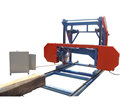 wood ripping saw machine, portable sawmill