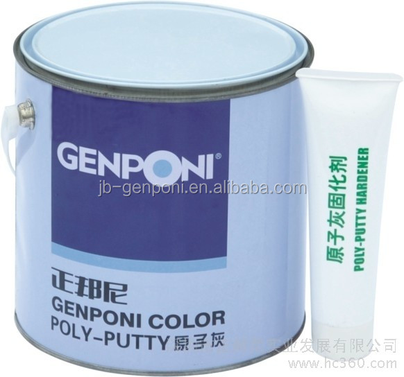 automotive coating Genponi Polyester Putty