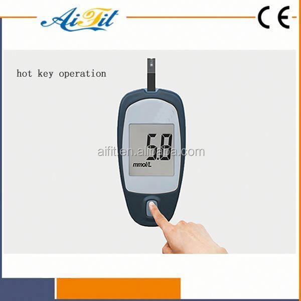 Japanese new design wireless mini blood glucose meter with cholesterol
