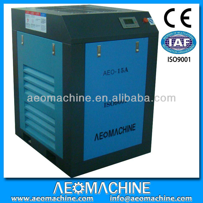 7/8/10/12 bar Belt drive silent new air compressor factory
