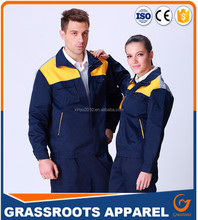 2016 hot sale high quality coveralls Men and women work clothes thick warm cold winter cotton padded tooling repair workwear