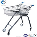 Elderly Shopping Cart with High Basket Base