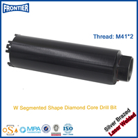 China high strength quality impregnated diamond core drill bits