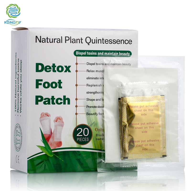 Natural herbal extracted Improve acne Detox foot Patch/ 2 in 1 patch