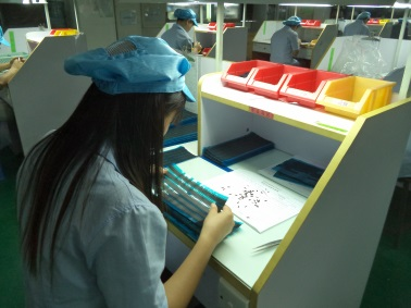 Inspecting (Silicone Rubber Products)