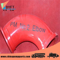 greaves concrete pump elbow/bend