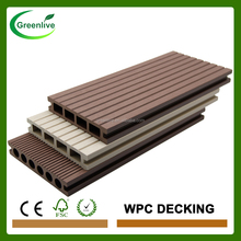 Cheap price pvc wood plastic decking