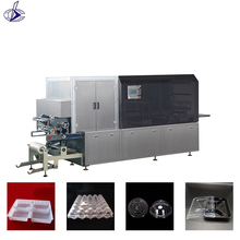 DB-470A/B ruian high quality automatic container thermoforming vacuum film machine plastic cup cover thermoforming machine price