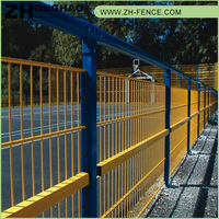 High Quality PVC coated Wholesale Professional cheap prefab fence panels