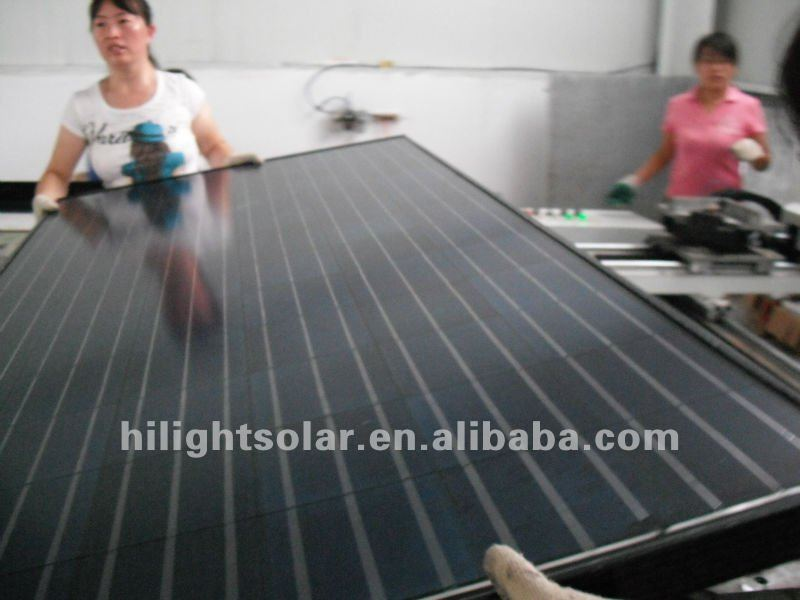 multi-power solar panel cheap price 240w black pv solar panel for home use India