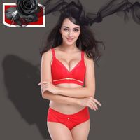 VF537 Soft convertible silk bra and panties set