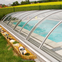 polycarbonate swimming pool cover, clear plastic roofing sheet