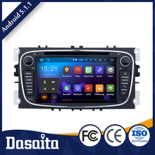 Airplay 2 din bluetooth touch screen car radio dvd gps player for ford s max fiesta
