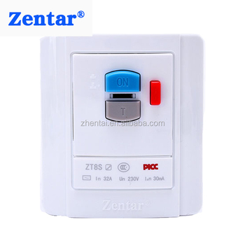 30mA 40A rcd fused spur smart switch with CB