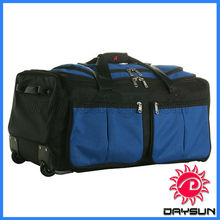 New sport casual15 Pockets wheeling duffle bag rolling