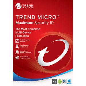 Online sending Digital Key Trend Micro 2019 Maximum Security 3 year 3 device Antivirus software