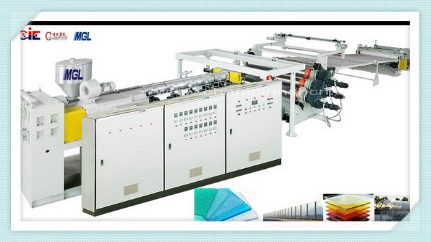 Highly active Supreme Quality pc sheet production line