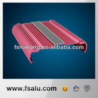 Red color extrusion aliminium enclosure cases for PCB