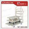 Durable Metal Convience Four Wheels Platform