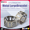 Custom Fashion Accessories Stainless Steel Smart Bangle Mens Bracelets,Engraved Bracelets Men Wholesale