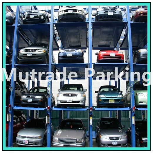 car tray park stacking car storage