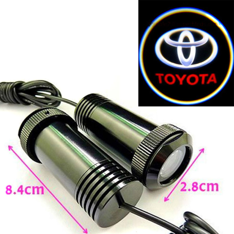 For Toyota LED Laser Logo Light All Car Names and Logos Decoration Light