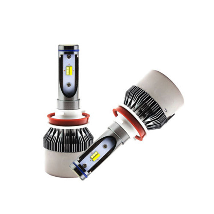 Dual color LED Yellow-<strong>Blue</strong> Auto Led Headlight H7 H11 <strong>H10</strong> H1 H3 9005 9006 H27 Car Led Replacement headlight <strong>bulbs</strong> 96W 9-36V