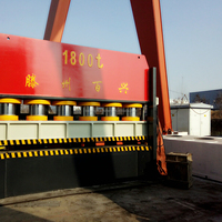 1800Ton Hydraulic Steel Door Frame Making