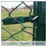 Chain link fence construction / chain link fence bias cut with low cost