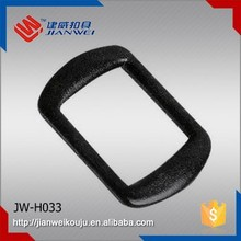 JW-H033 High quality POM plastic ring belt buckle fro handbag accessory