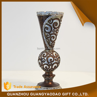 Alibaba china supplier classical resin candle holders upscale home decoration